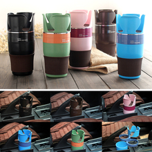 1ps Multi Function Car Drink Cup Holder Phone Storage Box Auto Sunglasses Organizer for Coins Keys Stand