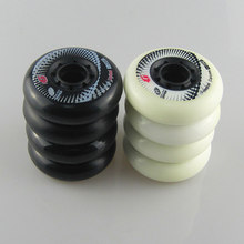 8 pièces d'origine Hyper + G béton roues de patin à roues alignées 84A 80mm ILQ-11 roulements Slalom patinage rouleau coulissant SEBA Patines pneus