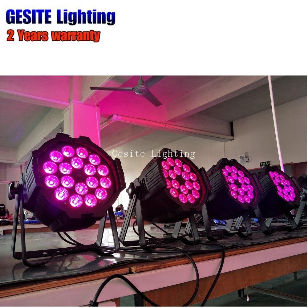 18x18 W RGBWA UV DMX Luzes Do Palco Luz com DJ Profissional