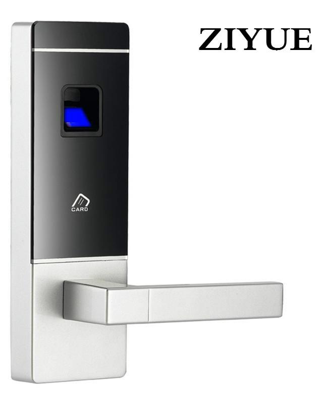 Smart  Keyless Biometric  Fingerprint Door Lock Card Intelligent Security Electronic Door Locks for home villa office smart keyless biometric fingerprint door lock intelligent security electronic door locks
