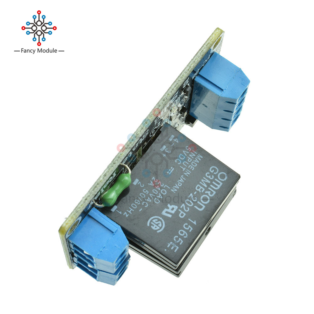 5v Dc 2 Channel Solid State Relay Board Module High Level Fuse For Arduino In Relays From Home Improvement On Alibaba Group