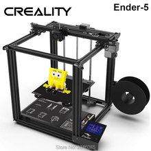 CREALITY 3D Printer Ender 5 with Landy stable Power, V1.1.3 Mainboard magnetic build plate, power Off Resume