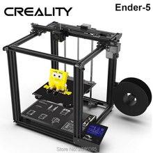 CREALITY 3d принтер Ender-5 с Landy стабильной мощностью, V1.1.3 материнская плата магнитная плита сборки, отключение питания