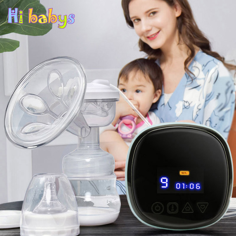 Electric Breast Pump Automatic Milk Extractor Infant Breast Feeding Bottle With Nipple Newborn USB Suction Milk Pump new 2018 intelligent automatic electric breast pumps nipple suction milk pump breast feeding usb electric breast pump 510