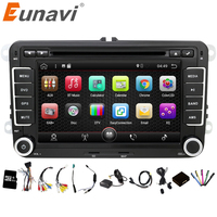 2 Din Android 4 4 4 VW Car Audio DVD Player GPS For GOLF 6 Polo
