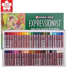 Sakura Oil Pastel Cray-Pas Expressionist Extra Fine Quality Oil Pastels XLP 12/16/25/36/50 Colors Soft Pastel Stick for Artist