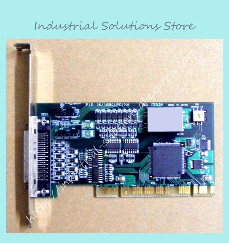 Industrial motherboard PIO-16/16T(PCI) NO:7132 100% tested perfect quality pca 6008vg industrial motherboard 100% tested perfect quality