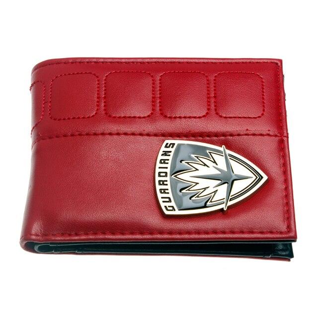 Бумажник Стражи Галактики красный 2