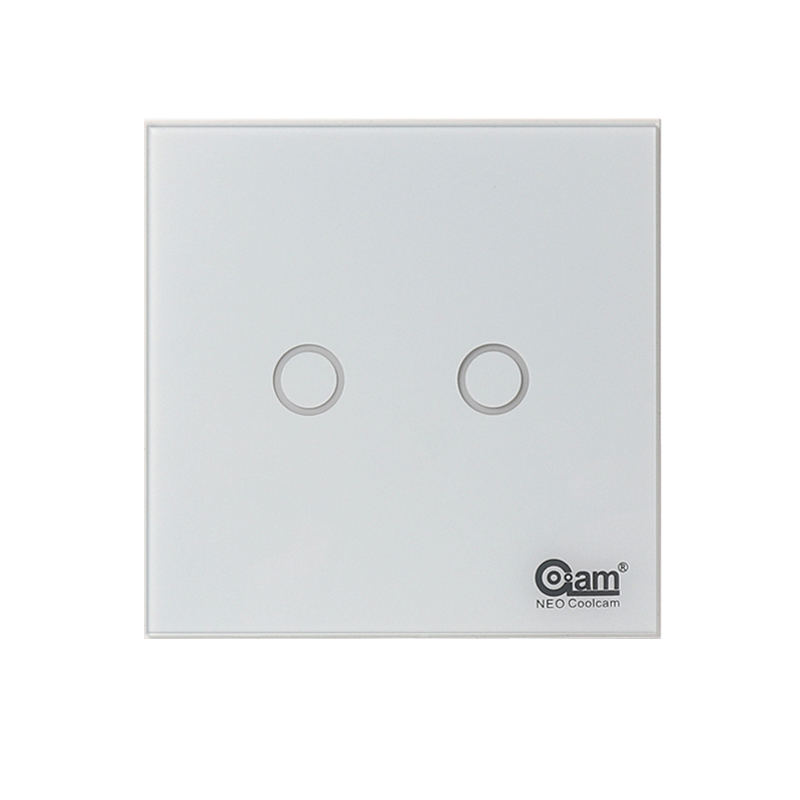 Nice Design Glass Panel Touch LED Wifi Light Switch for Smart Home Wireless Remote Switch Control neo coolcam wifi 2gang wall wifi light switch glass panel touch led lights switch for smart home wireless remote switch control