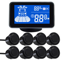 Car LCD Parking Sensor Kit Display for all cars parking