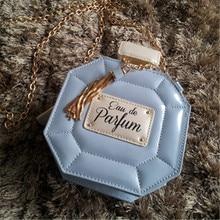 Frauen kupplung kette taschen parfüm flasche frauen messenger bags parteigeldbeutel abend hohe qualität tasche