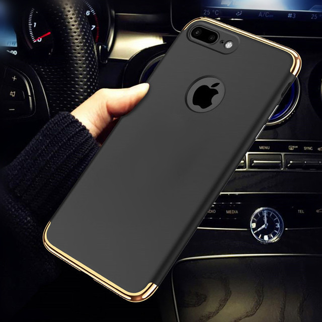 luxury hard phone case for iphone 5 5s se 6 6s plus cover matte full body Protective cases for iphone 7 7 plus protect shell