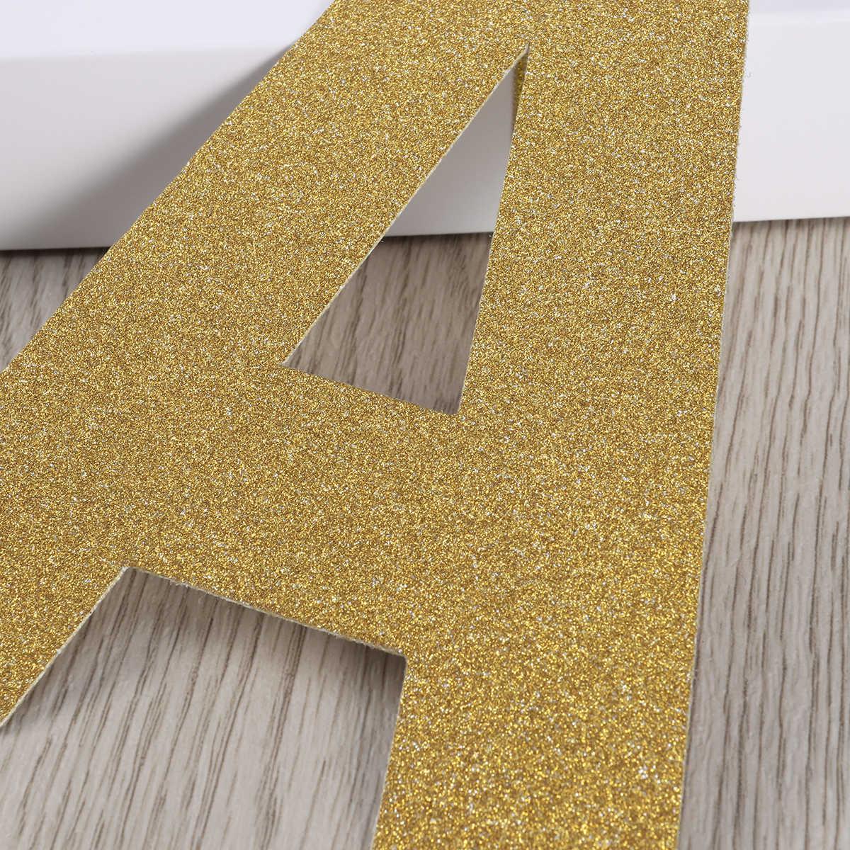 3 Meters Hanya Menikah Huruf & Desain Cincin Gemerlapnya Kertas Spanduk Bunting Garland Properti Foto Booth Alat Peraga untuk Dekorasi Pernikahan