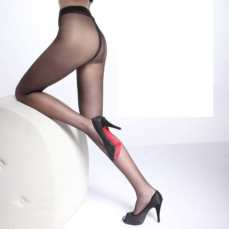 Brown Pantyhose In 105