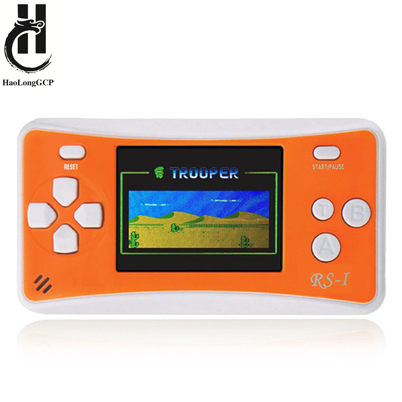 Hot Selling Kids Game Console Portable Handheld Game Play with 152 free retro mini games support TV Out image
