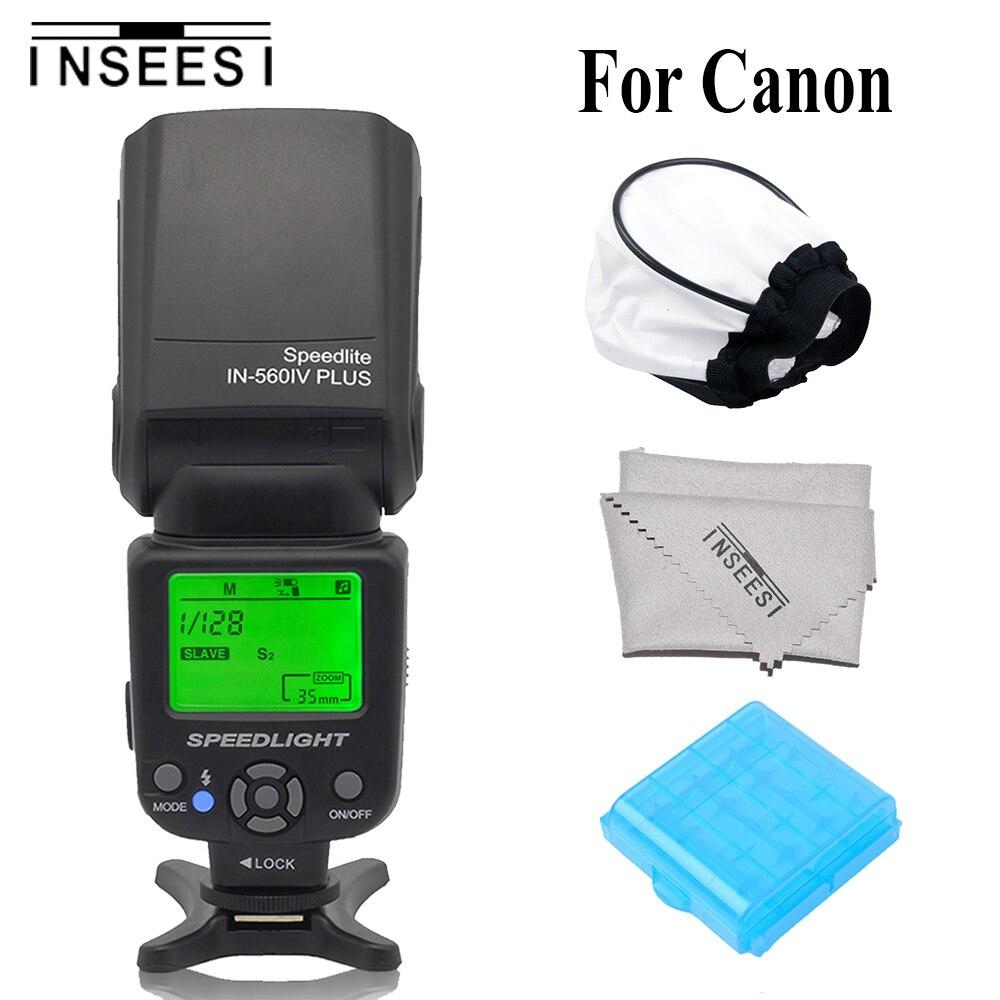 INSEESI IN560IV Plus Universal Camera Flash Speedlite Flashlight For Canon 6d 60d 5d mark iii 550d 1100d 650d 600d 700d 7d 5d3INSEESI IN560IV Plus Universal Camera Flash Speedlite Flashlight For Canon 6d 60d 5d mark iii 550d 1100d 650d 600d 700d 7d 5d3