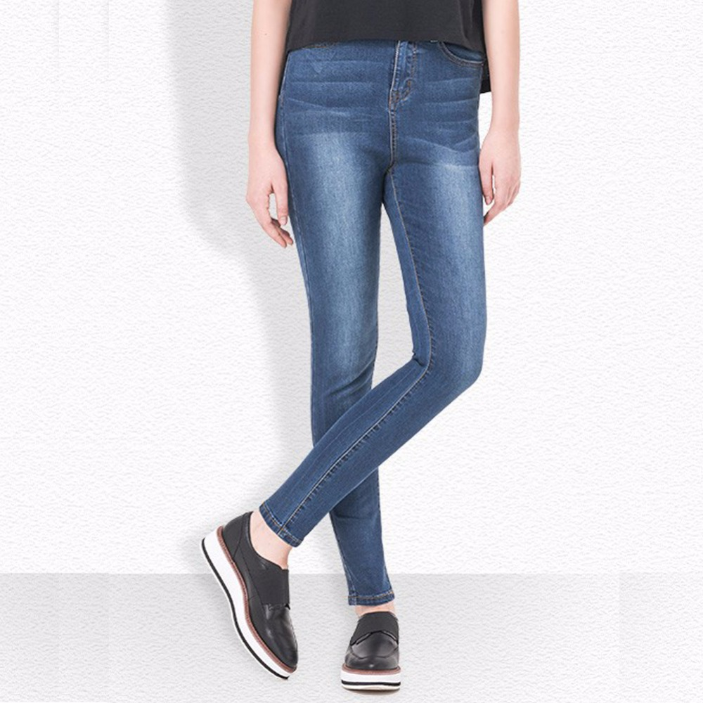Women Jeans With High Waist Jeans for Woman High Elastic Plus Size Female Jeans Femme Washed Casual Skinny Pencil Pants Trousers djgrster jeans for women with low waist jeans woman high elastic plus size women jeans femme washed casual skinny pencil pants
