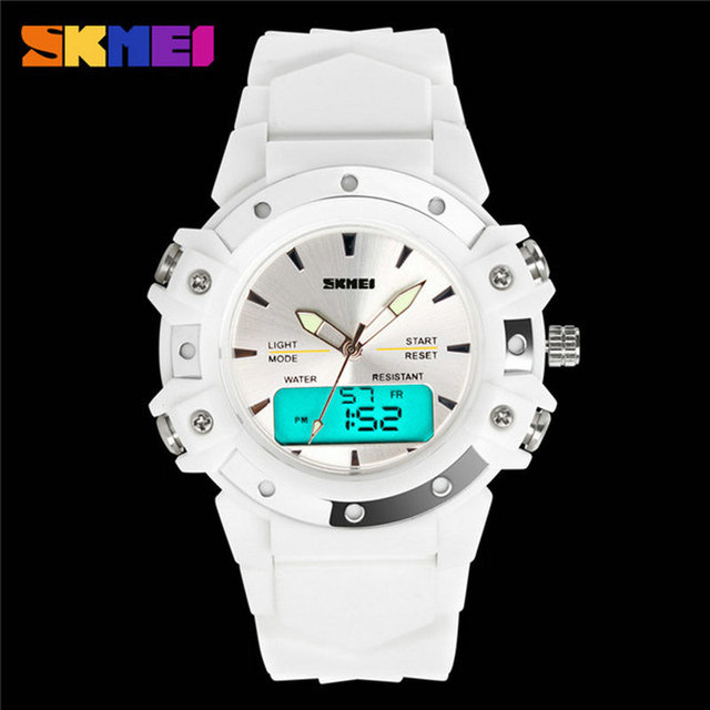 Surprise price skmei multifunctional dual time waterproof Boy Men Luxury Alarm LED Digital Quartz Military relogio watches