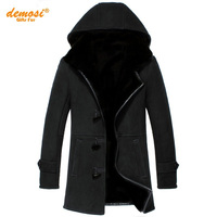 Factory Direct Delivery 100 Natural Fur Sheepskin Coat Genuine Leather Coat Cold Female Men 2016 Winter