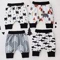 AD Cute Boys Girls Harem Pants 2 Layers Cool Cotton Baby Boys Girls Trousers for Summer Children's Clothing and Accessories