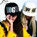 Espejo de Acrílico cartas personalizadas moda hombres mujeres deportes gorras de béisbol tachonado snapback sombreros para hombre y mujer