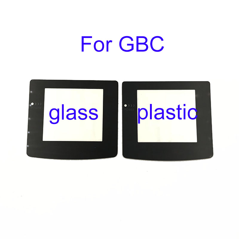 Plastic Glass Lens For GBC Screen Glass Lens For Gameboy Color Lens Protector W/ Adhensive