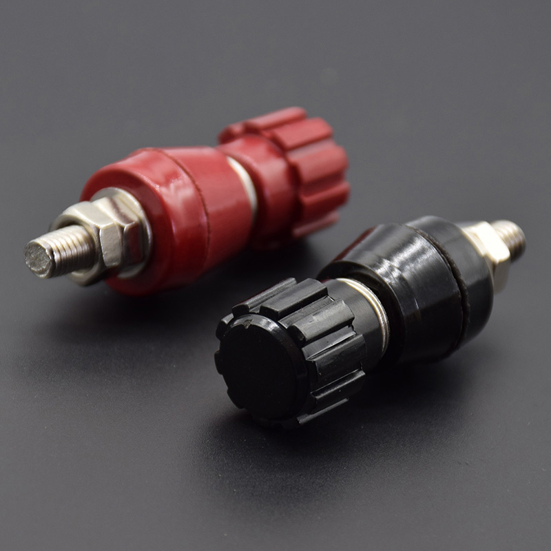 Pair Car Marine Boat RV 5AWG Gauge Copper Battery Cable Power Inverter Wire
