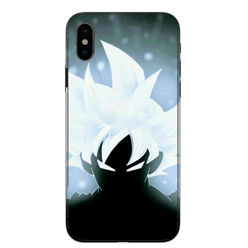 Dragon Ball DragonBall z goku black Hard PC Phone Case For iPhone X 10 Cover for iPhone 5 5S SE 6 6S Plus 7 7Plus 8 8Plus in Half wrapped Cases from Cellphones Telecommunications