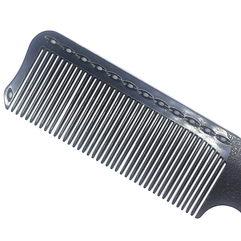 Mayitr 1 Pc Professional Hair Combs Barber Hairdressing Black Hair Cutting Comb Plastic Anti-static Salon For Styling Tools