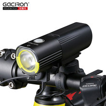 Gaciron Bicycle Headlight D Super Bright Bike L2 LED Lamp Front Lamp 1000Lumens Internal Battery USB Charge V9S-1000