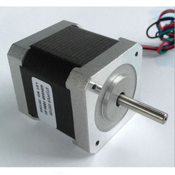 5pcs Nema17 Stepper Motor 42HS48-1684 single shaft 0.5NM 1.6A motor length 48mm CNC Engraving