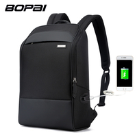 BOPAI Brand Multifunction USB Charging Men 15 6 Inch Laptop Backpacks For Teenager Fashion Male Travel