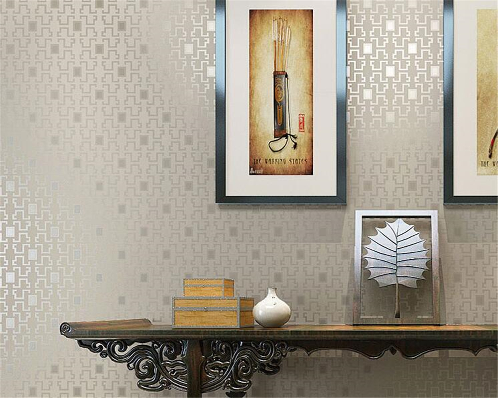 Beibehang Modern lattice living room background wall wallpaper restaurant shop hotel wall papers home decor papel de parede wallpaper modern anchos travelling boat modern textured wallcoverings vintage kids room wall paper papel de parede 53x1000cm
