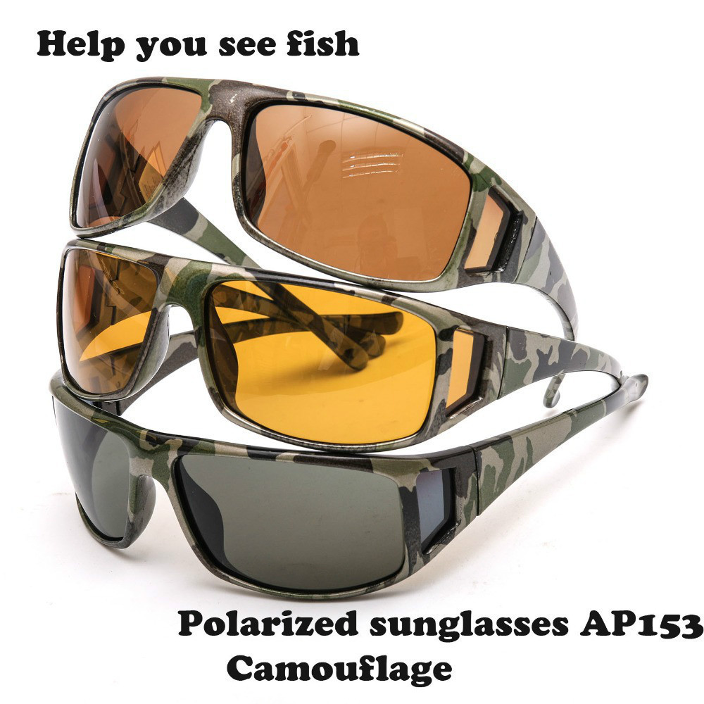 Maximumcatch Camouflage Frame Fly Fishing Polarized Sunglasses Lens Frame Fishing UV400 Sunglasses Multi-Color Eyewear. ossat fashion plastic frame resin lens uv400 protection polarized sunglasses yellow