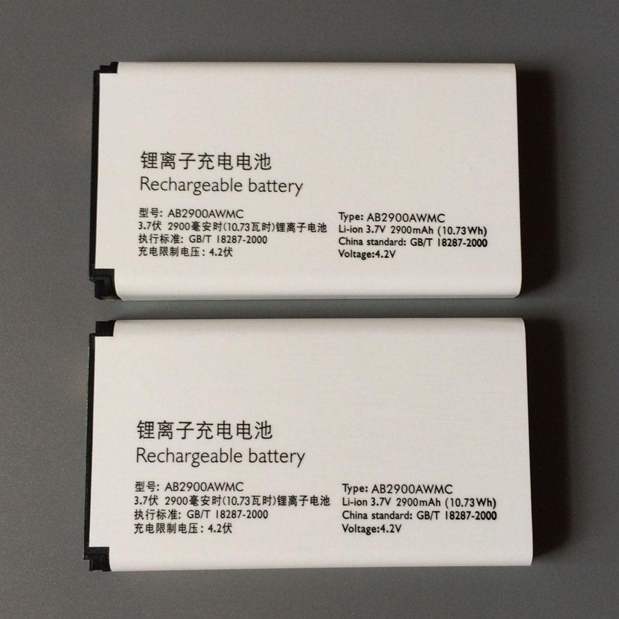 En Stock 100% NOUVEAU AB2900AWMC de Batterie Pour PHILIPS Xenium X1560 X5500 CTX5500 CTX1560 Smartphone/Smart Mobile téléphone