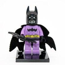 XINH 166 Batman Minifigure DC Batman Clown Super Heroes Building Block Sets Model Bricks Toys For Children