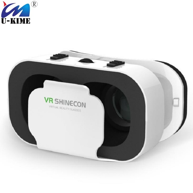 49f68971cecd VR Shinecon 5.0 Glasses Virtual Reality VR BOX 3D Glasses Headset Goggles  for 4.7-6.0 Inch Phone