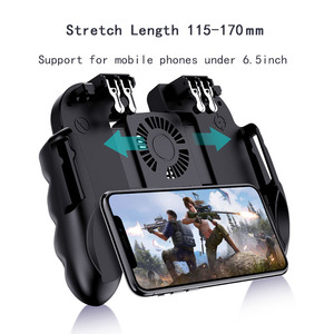 Image 1 - Mando PUBG con ventilador para móvil, botón de disparo para iphone e ios