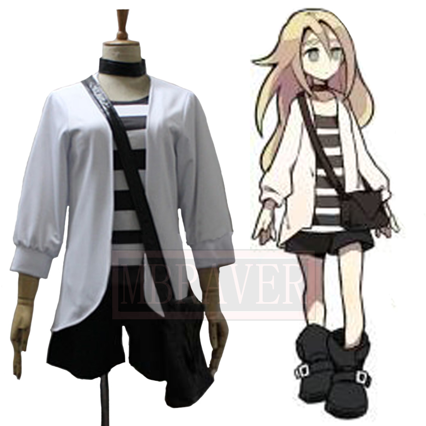 Game Angels of Death Rachel Gardner Ray Uniforms Cosplay Costume Uniforms Tailor made Any Size ...