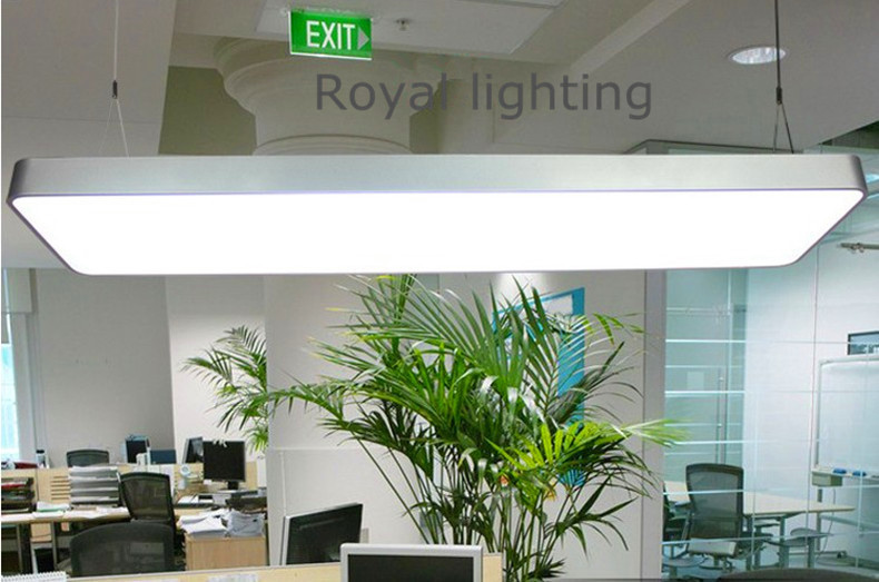 Office Library Reading Led Pendant Lights Hanging Lamps Commercial Industrial Lighting 3 Fluorescent Fixtures In From