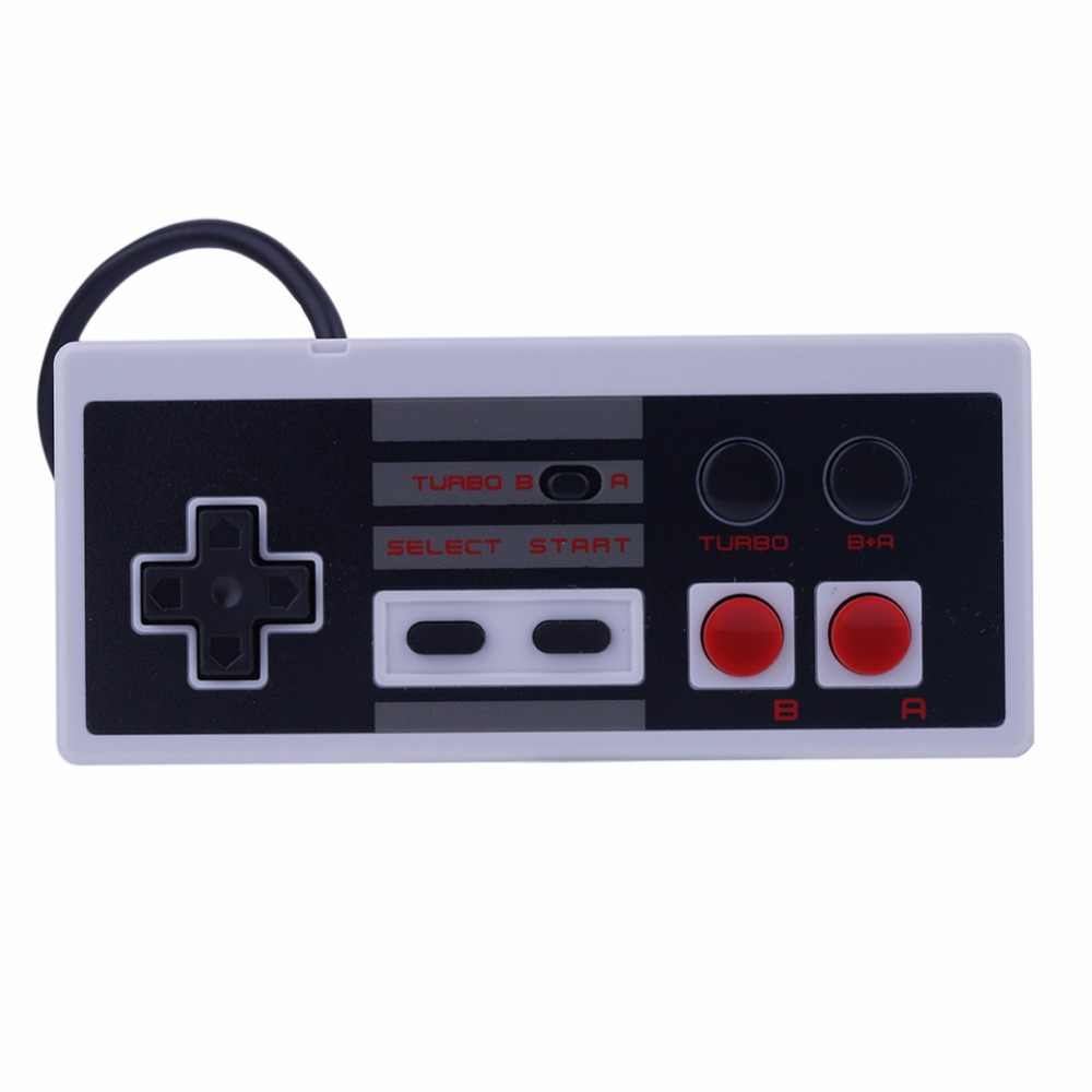 3m Wired Game Controller Portable Gaming Joystick Gamepad for Nintendo NES Classic Mini