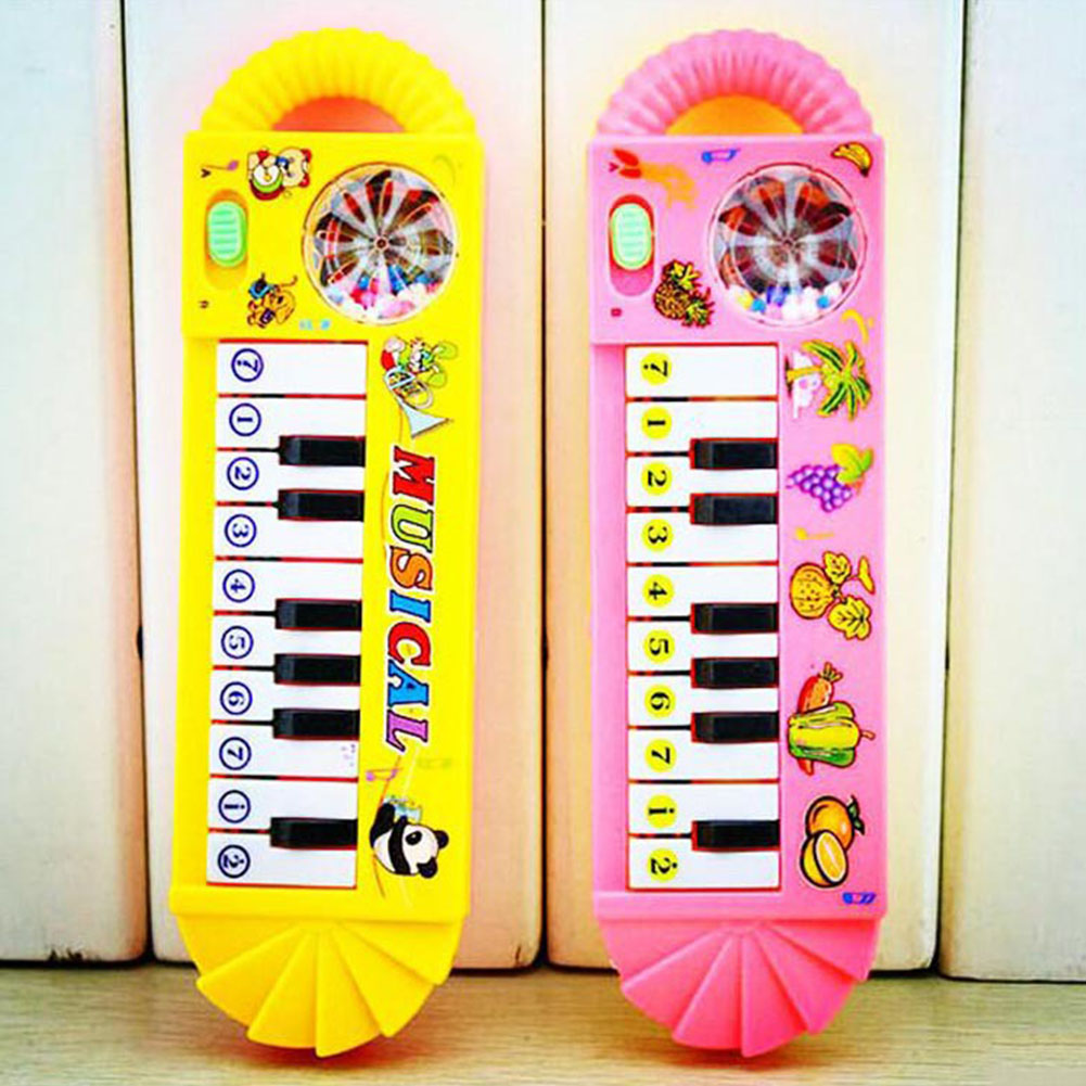 Children Mini Electronic Keyboard Portable Intelligent Musical Toy Electronic Keyboard Early Education Tool