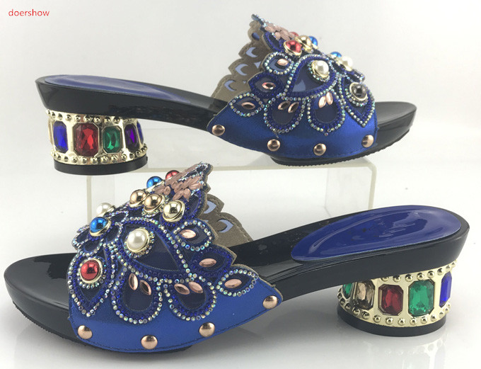 Elegantes Púrpura Zapatos Mujer Libre Doershow Al Agradable Smb1 Sandalias Mayor Para Por 17 Calzado Envío Africana U5dq0pwd
