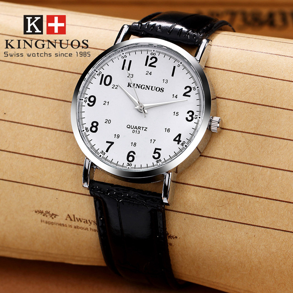 Relogio Masculino KINGNUOS Wrist Watch Mens 2019 Top Brand Luxury Famous Watches Male Clock Quartz Watch Hodinky Erkek Kol Saati