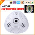 New Arrival Fisheye Panoramic Camera Full HD HI3516C IP Camera 1080P 5MP 1.7MM Lens Fish Eye Security Camera IP P2P ONVIF