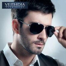 VEITHDIA Hombres Marca de Recubrimiento de Protección UV400 Gafas de Sol Polarizadas de Conducción gafas de Sol de los hombres gafas de sol masculino 1306