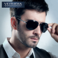VEITHDIA Men Brand Polarized Sunglasses  UV400  Protect Sports Coating Driving  Sun glasses men oculos de sol masculino  1306
