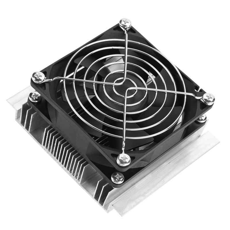 50 Вт DIY Термоэлектрический охладитель система охлаждения полупроводниковая холодильная система Комплект радиатор Пельтье кулер для 15л воды
