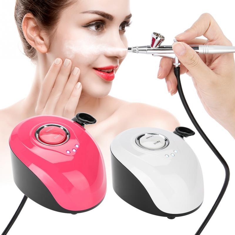 Do użytku domowego Mini opryskiwacz tlenowy wody wtrysku tlenu maszyna do terapii z Airbrush zestaw narzędzi do czyszczenia SPA piękna maszyna w Przyrządy do pielęgnacji skóry twarzy od Uroda i zdrowie na  Grupa 1