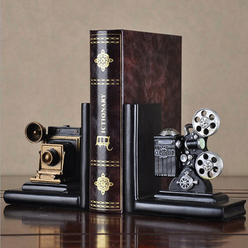 Vintage Style Resin Craft Projector Model Birthday Desktop Crafts Figurines Home Decors Miniature Gifts The Most Fun Toys